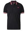 1 Pique Polo Shirt Black