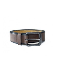 D555 Avant Brown Leather Belt