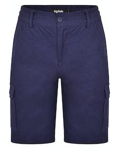 Bigdude elastische Cargoshorts Marineblau