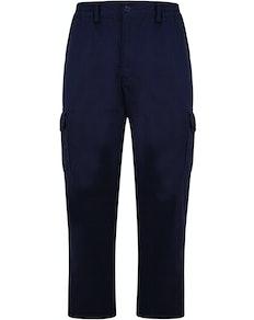 Bigdude elastische Cargohose Marineblau
