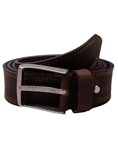 Michael Leather Antique Belt Brown