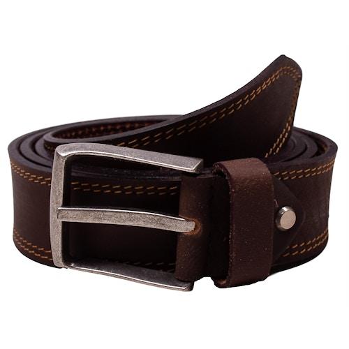 Michael Leather Antique Belt Brown