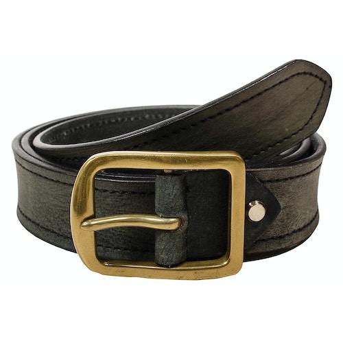 Stephen Leather Melange Belt Grey