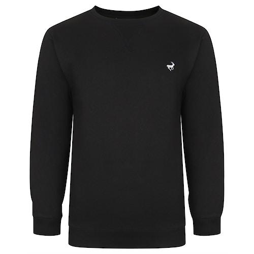 Bigdude Signature Sweatshirt Schwarz