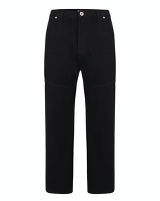 Bigdude Super Loose Relaxed Fit Jeans Black