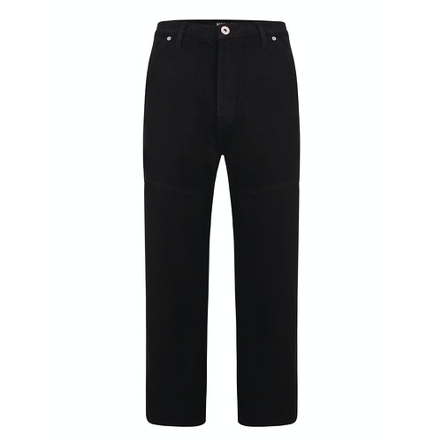 Bigdude Super Loose Relaxed Fit Jeans Schwarz
