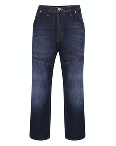 Bigdude Super Loose Relaxed Fit Jeans Dark Wash