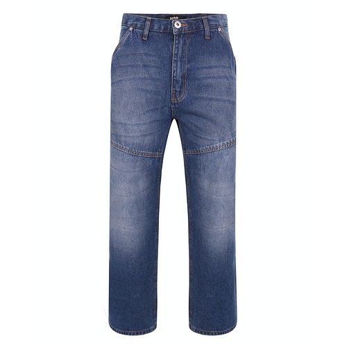 Bigdude Super Loose Relaxed Fit Jeans Mid Wash
