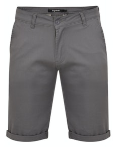 Bigdude Stretch Chino Shorts Grau