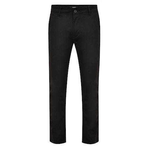Bigdude Stretch Chino Trousers Black