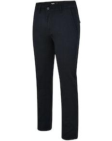 Bigdude Stretch Chino Trousers Navy Tall