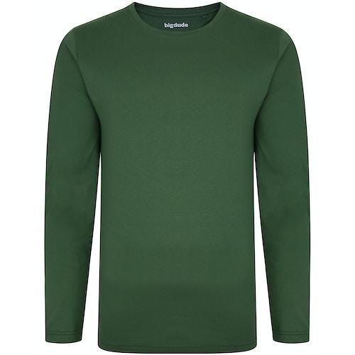 Bigdude Langarm Shirt Dunkelgrün