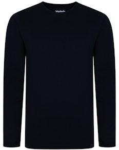 Bigdude Langarm Shirt Blau