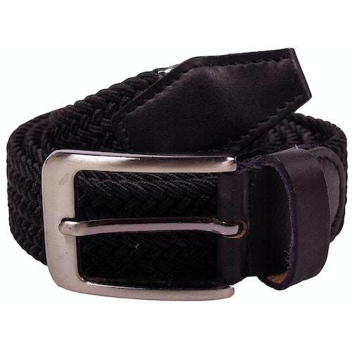 Robbie Stretch Braided Belt Black