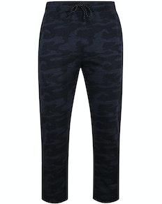 Bigdude Camouflage Jogginghose Blau