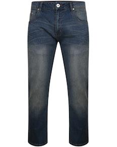 Bigdude Lightweight Stretch Jeans Mid Wash