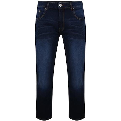 Bigdude Lightweight Stretch Jeans Dark Wash