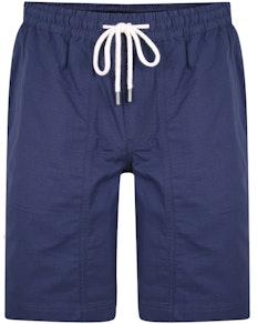Bigdude Rip Stop Cotton Shorts Navy