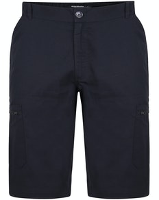 Bigdude Rip Stop Cargo Shorts Black