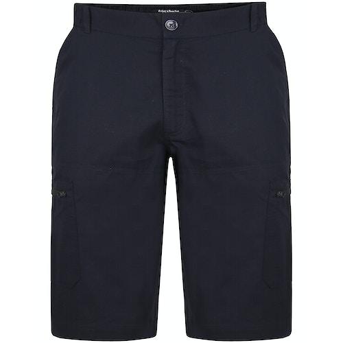 Bigdude Rip Stop Cargo Shorts Schwarz