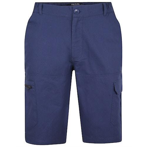 Bigdude Rip Stop Cargo Shorts Navy