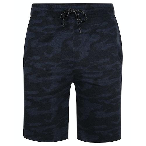 Bigdude Camouflage Shorts Blau
