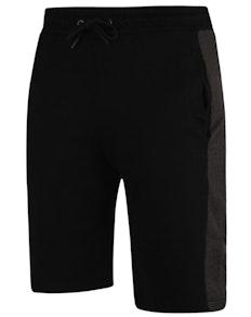 Bigdude Contrast Stripe Shorts Black