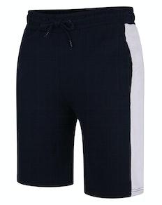Bigdude Contrast Stripe Shorts Navy