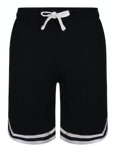 Bigdude Twin Stripe Shorts Black
