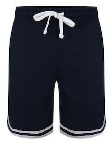 Bigdude Twin Stripe Shorts Navy