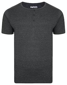 Bigdude Grandad T-Shirt Black Marl