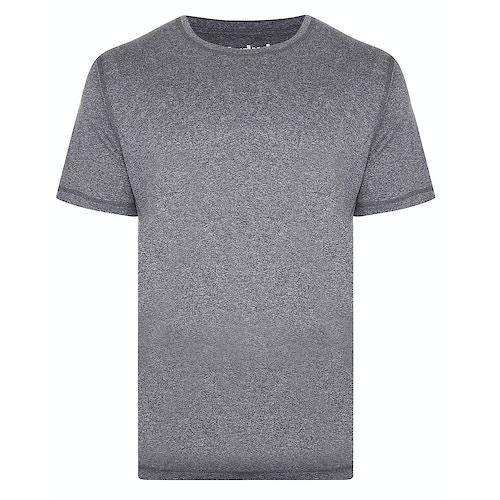 Bigdude Inkjet Stretch Performance T-Shirt Black