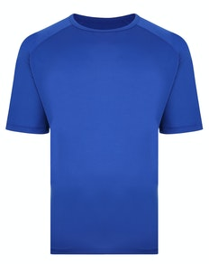Bigdude Raglan Stretch Performance T-Shirt Königsblau