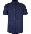 Spotted Shirt Navy