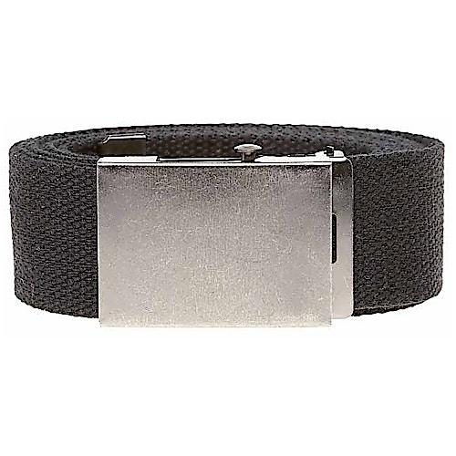 Bigdude Woven Canvas Belt Black