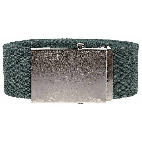 Bigdude Woven Canvas Belt Charcoal
