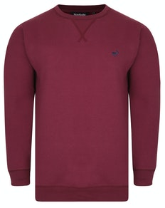 Bigdude Signature Jumper Burgundy