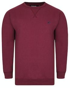 Bigdude Signature Sweatshirt Weinrot
