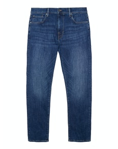 Ben Sherman Stretch Straight Fit Jeans Stonewash Denim