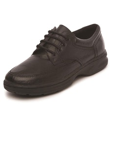 Dr Keller Brian Leather Lace Up Shoe in Black