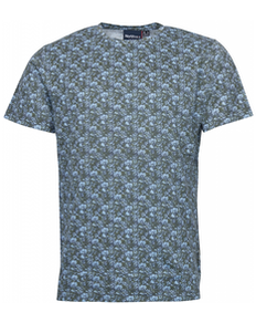 Replika Nord 56 ° 4 All Over Print T-Shirt Grau