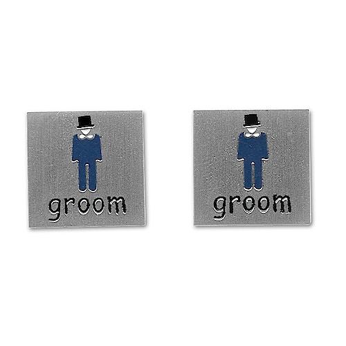 Sophos Groom Wedding Cufflinks