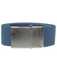 Bigdude Woven Canvas Belt Blue