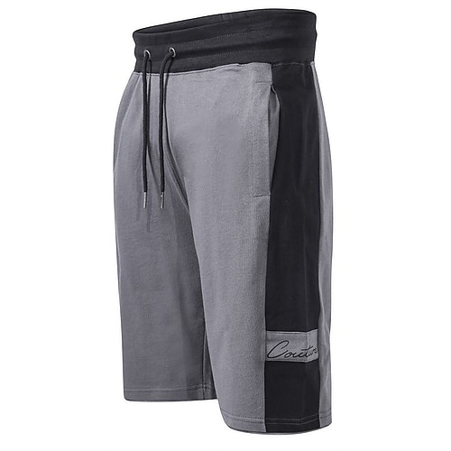 D555 Casper Couture Shorts Grau