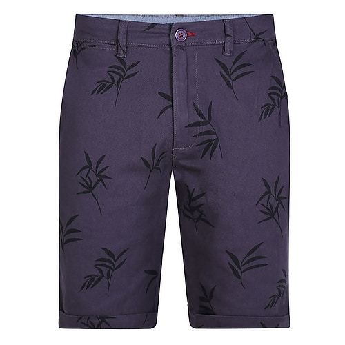 D555 Stretch Shorts Marineblau