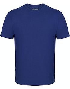 Bigdude T-Shirt mit Rundhalsausschnitt Königsblau Tall Fit