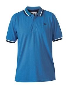 D555 Allante Pique Poloshirt Königsblau