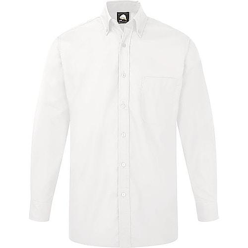 ORN Premium Oxford Long Sleeve Shirt White