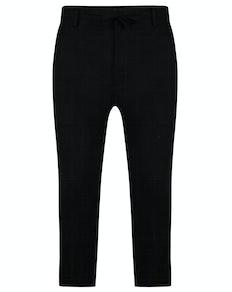 Bigdude Linen Trousers Black