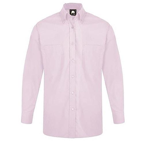 ORN Premium Oxford Long Sleeve Shirt Lilac
